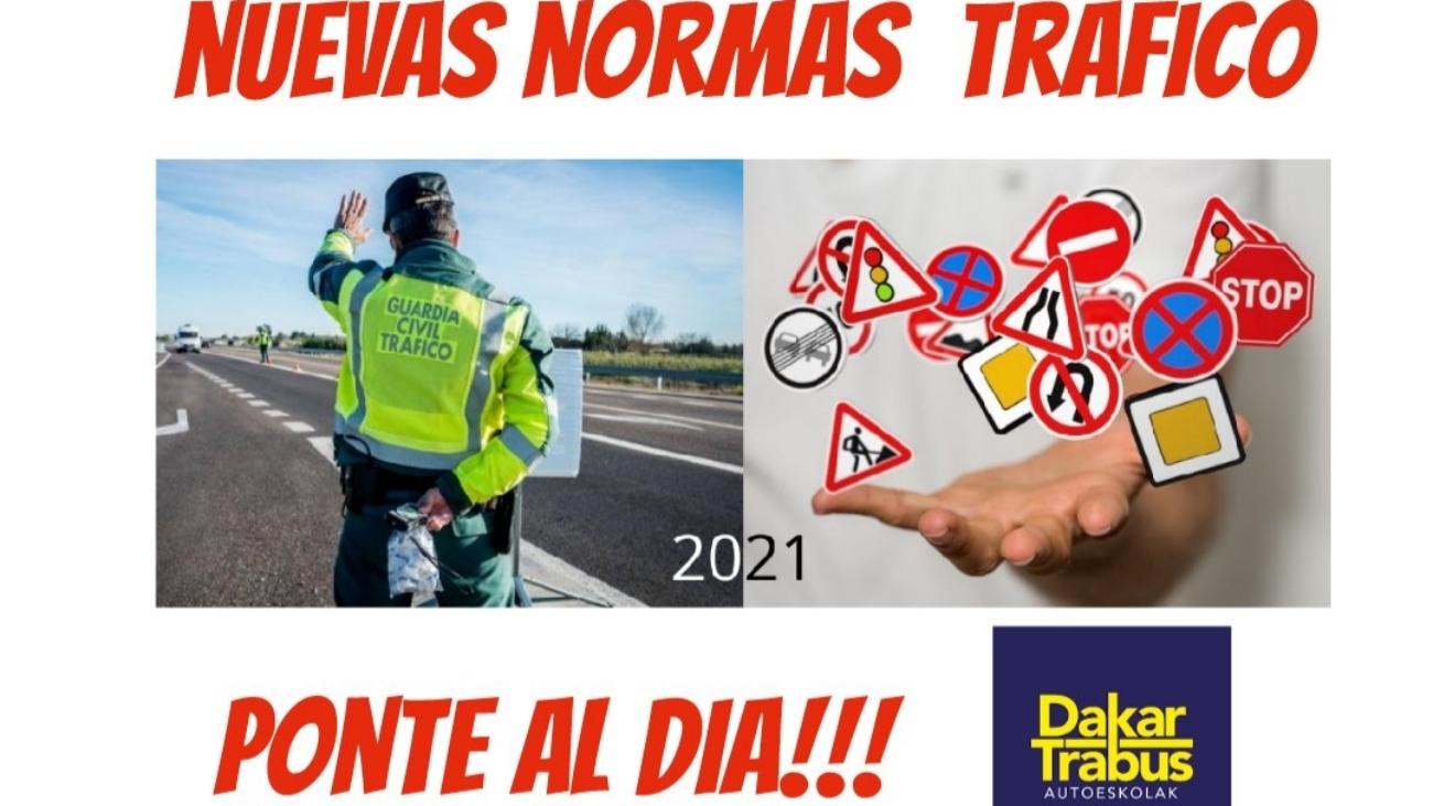 Nuevas normas de tráfico