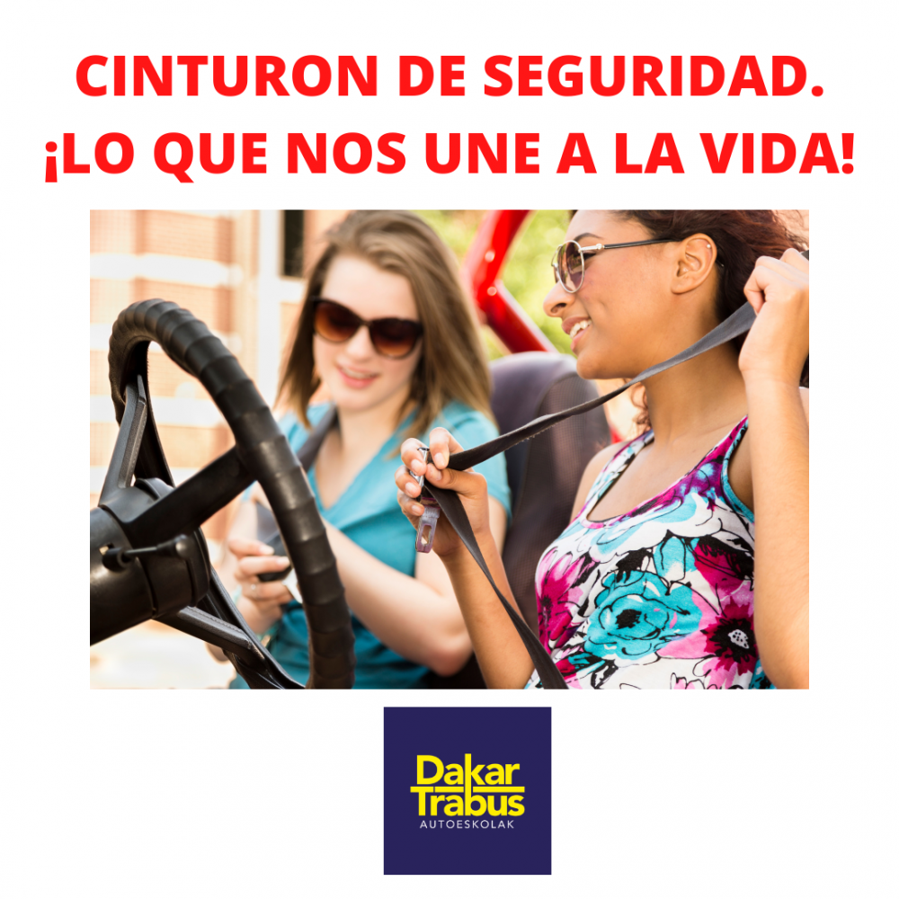 CINTURON DE SEGURIDAD. ¡LO QUE NOS UNE A LA VIDA! (2)